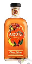 "Arcane Arrange "" Banane Flambée "" flavored Mauritian rum 40% vol.  0.70 l"