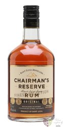 "Chairman´s "" Reserve Original "" aged rum of St. Lucia distillers 40% vol.  0.70l"