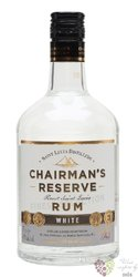 "Chairman´s "" Reserve white "" aged rum of St. Lucia distillers 40% vol.  0.70 l"