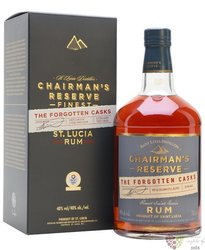 "Chairman´s "" the Forgotten casks "" aged rum of St. Lucia distillers 40% vol.  0.70 l"