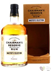 """Chairmans """" Masters Selection the Netherlands """" 2009 unique Saint Lucian rum 46% vol. 0.70 l"""