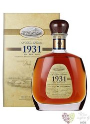 "St.Lucia 1931 "" 80 anniversary 1st edition "" vintage rum of St. Lucia island 43% vol.  0.70 l"