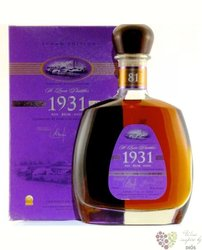 "St.Lucia 1931 "" 81 anniversary 2nd edition "" rum of St. Lucia island 43% vol.  0.70 l"