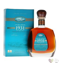 "St.Lucia 1931 "" 82 anniversary 3rd edition "" vintage rum of St. Lucia island 43% vol.    0.70 l"