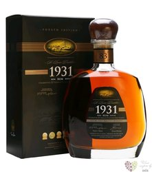 "St.Lucia 1931 "" 83 anniversary 4.edition "" vintage rum of St. Lucia island 43% vol.  0.70 l"