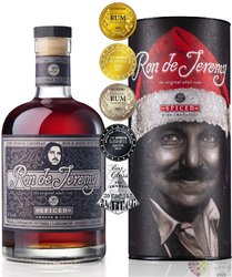"Ron de Jeremy "" Spiced Xmass ed. "" flavored Panamas rum 38% vol.  0.70 l"