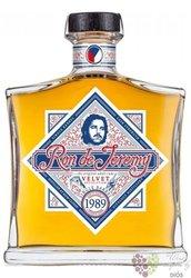 """Ron de Jeremy 1989 """" Velvet revolution """" aged 30 years rum of Guyana 50.4% vol.0.70 l"""