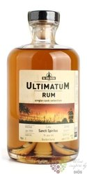 "Ultimatum single cask 1999 "" Sancti spiritus "" aged 18 years Cuban rum 46% vol.0.70 l"