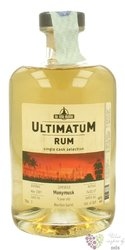 "Ultimatum single cask 2007 "" Monymus "" aged 9 years Jamaican rum 46% vol.  0.70l"
