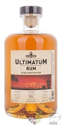 "Ultimatum single cask 1991 "" T.D.L. "" aged 25 years rum of Trinidad 46% vol.  0.70 l"