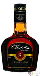 "Medellin "" Extra Anejo "" aged 8 years Colombian rum 37.5% vol.    0.70 l"
