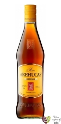 "Arehucas "" Carta Oro "" gold rum of Canaria Islands 37.5.% vol.  0.05 l"