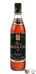 """Arehucas """" Select """" aged 7 years rum of Canaria Islands 40% vol.  0.05 l"""