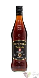 "Arehucas ron miel "" Guanche "" flavored honey´s rum of Canaria Islands 20% vol.0.05 l"
