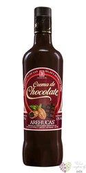 "Arehucas "" Créma de chocolate "" flavored rum of Canaria Islands 17% vol.  0.70l"