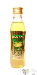 "Arehucas crema banana "" Canafruit "" rum liqueur of Canaria Islands 20% vol.   0.05 l"
