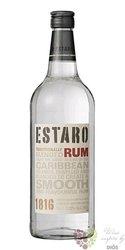 """Estaro """" White """" blended Caribbean rum 37.5% vol. 0.70 l"""