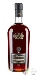 "Baoruco "" Reserva Antigua "" aged 21 years rum of Dominican republic 40% vol.0.70 l"