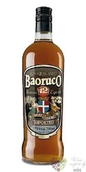 "Baoruco "" Gran Aňejo "" aged 12 years rum of Dominican republic 37.5% vol.     0.70 l"