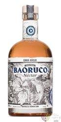 "Baoruco Parque edicion limitada "" Nectar "" flavored Dominican rum 37.5% vol.  0.70 l"