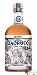 "Baoruco Parque edicion limitada "" Nectar "" flavored Dominican rum 37.5% vol.  0.50 l"