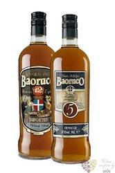 """Baoruco """" Aňejo 5 years & Gran Aňejo 12 years """" aged 5 years rum of Dominican republic 37.5% 2x0"""