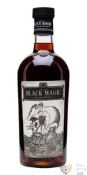 "Black Magic "" Spiced "" flavored caribbean rum 40% vol.  0.70 l"