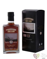 Pichincha 15 years old Palo Cortado sherry cask aged vulcani rum of Ecuador 40%vol.  0.70 l