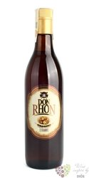 "Don Rhon "" Dorado "" rum of Dominican republic 37.5% vol.  0.70 l"