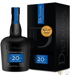 "Dictador "" Esencia coffee "" aged 20 years rum of Colombia 40% vol.  0.70 l"