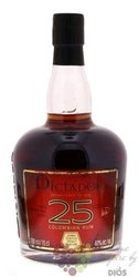 Dictador aged 25 years Colombian rum 40% vol.  0.70 l