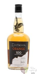 "Dictador 100 months aged "" Orange "" rum of Colombia 40% vol.   0.70 l"
