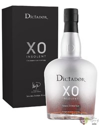 "Dictador XO "" Insolent "" aged rum of Colombia 40% vol.  0.70 l"