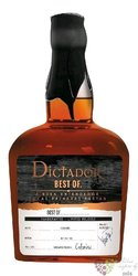 Dictador the Best of 1975 single cask Colombian rum 41% vol.  0.70 l