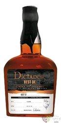 Dictador the Best of 1972 single cask Colombian rum 43% vol.  0.70 l