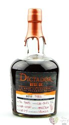"Dictador 1980 "" Best of "" aged 35 years single cask Colombian rum 41.8% vol.   0.70 l"