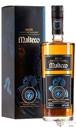 "Malteco "" Aňejo Suave "" aged 10 years gift box rum of Guatemala 40.5% vol.  0.70 l"
