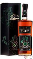 "Malteco reserva "" Maya "" aged 15 years Panamas rum 40% vol.  0.20 l"
