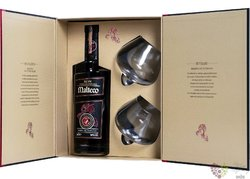 """Malteco reserva """" del Fundador """" aged 20 years Panamas rum 41% vol.  0.70 l"""