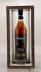 """Malteco reserva """" del Fundador """" aged 20 years Cristall set rum of Guatemala 41% vol.  0.70 l"""