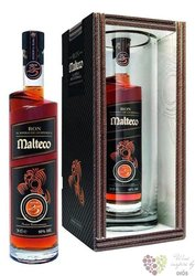 "Malteco reserva "" Rara "" aged 25 years rum of Guatemala 40% vol.  0.70 l"