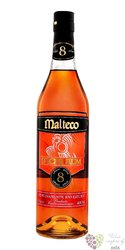 "Malteco "" Spiced "" aged 8 years rum of Guatemala 40% vol.   0.70 l"