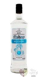 """Malteco """" Seco Puro """" white rum of Guatemala 37.5% vol.  1.00 l"""