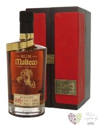 Malteco vieux 1987 second edition vintage rum of Guatemala 40% vol.  0.75 l