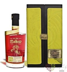 "Malteco vieux 1990 "" Seleccion "" vintage rum of Guatemala 40% vol. 0.70 l"