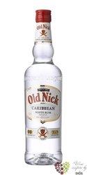 "Old Nick "" White "" caribbean rum 37.5% vol.    0.70 l"