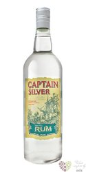 Captain Silver white caribbean rum 37.5% vol.  1.00 l