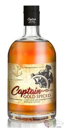 "Captain "" Gold Spiced "" Caribbean spirit drink 35% vol.  0.70 l"