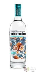 "Takamaka bay "" Coco "" flavored rum of Seychelles islands 25% vol.  0.70 l"