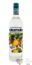 "Takamaka bay "" Pineapple "" flavored rum of Seychelles islands 25% vol.  0.70 l"